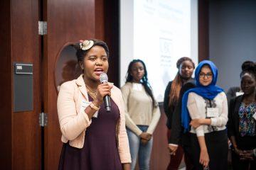 UBC MCF Scholar – Sharon Shamuyarira earns 3rd Place at Chapman Story Awards